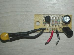 Fan temp controller